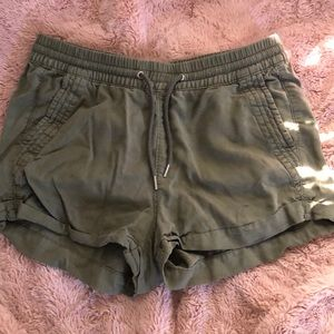 Army Green loose shorts form H&M